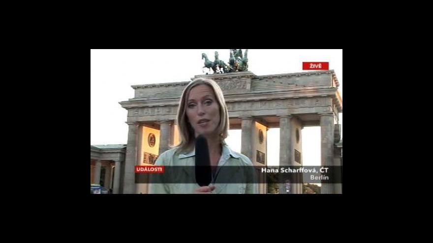 Video Vstup Hany Scharffové z Berlína