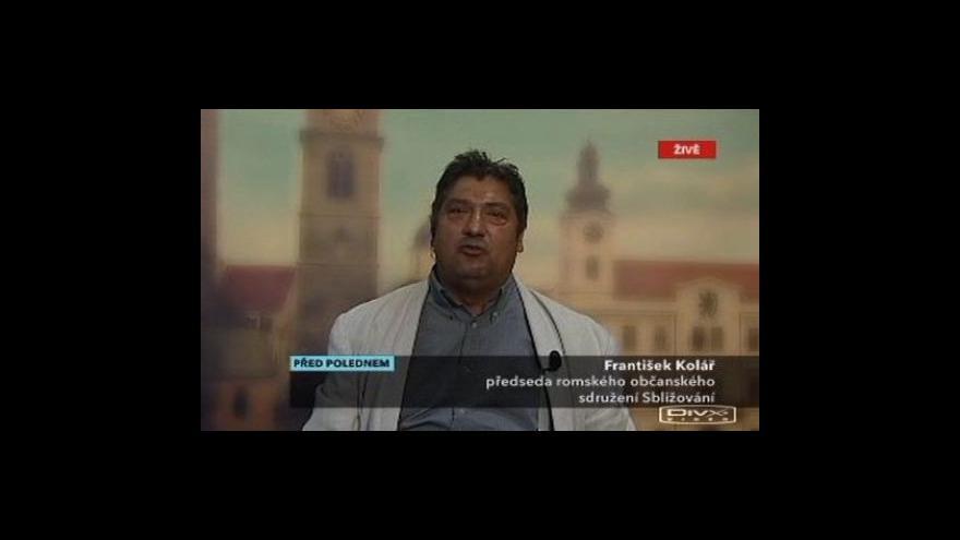 Video Rozhovor s Františkem Kolářem v pořadu Před polednem