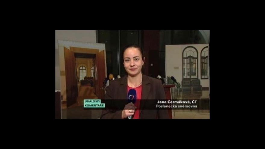 Video Vstup Jany Čermákové v Událostech, komentářích