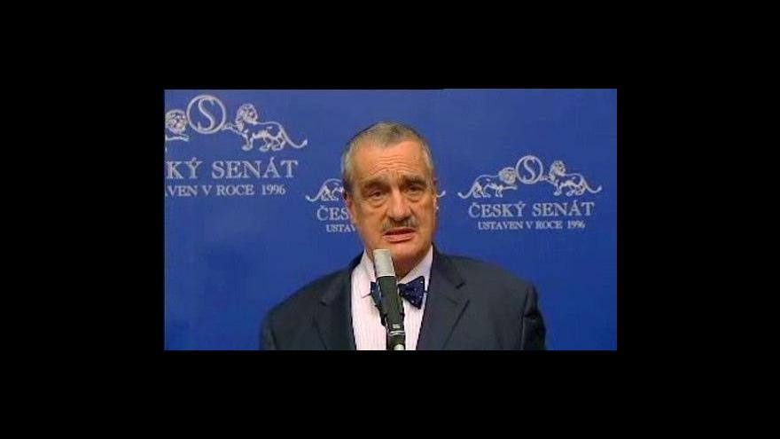 Video Tisková konference po jednání politiků