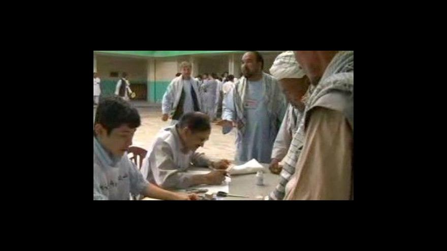 Video Průběžné výsledky voleb v Afghánistánu