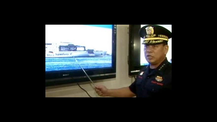 Video Potopení trajektu Superferry 9
