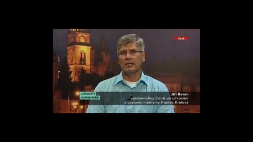 Video Rozhovor s Jiřím Beranem v pořadu Události, komentáře