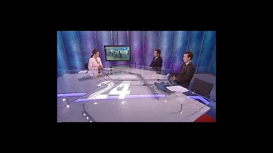 Video Miroslav Dvořák a Milan Vaníček ve Studiu 6