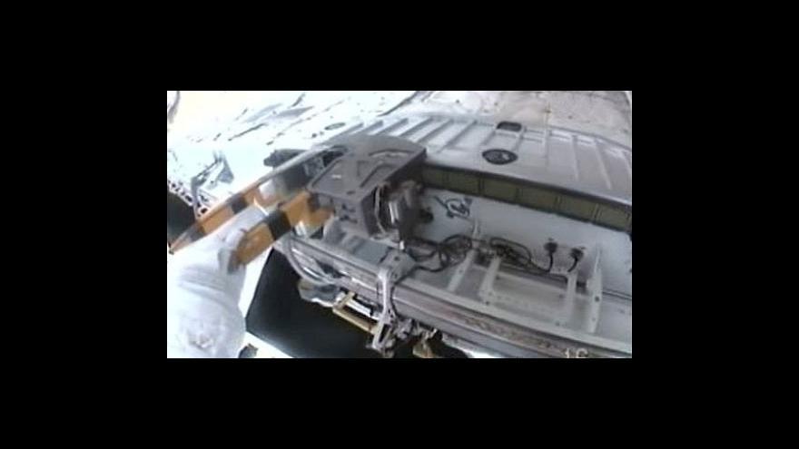 Video Práce na ISS