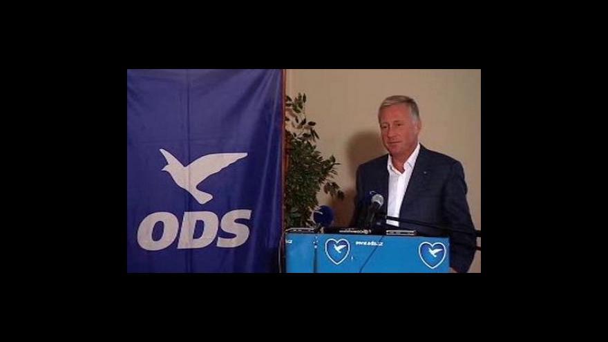Video Brífink ODS k ústavní krizi