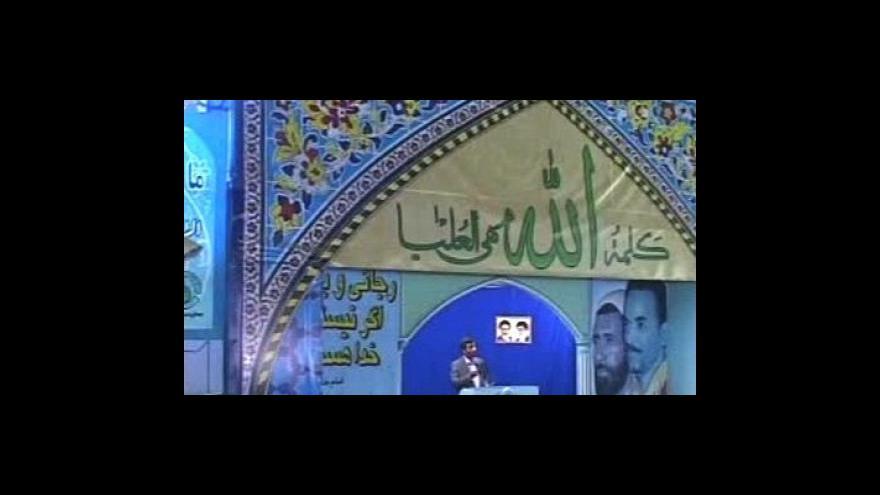 Video Petr Zavadil k íránské vládě