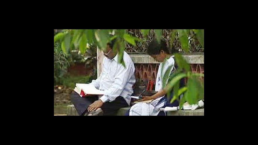 Video V Bangladéši šetří elektřinou