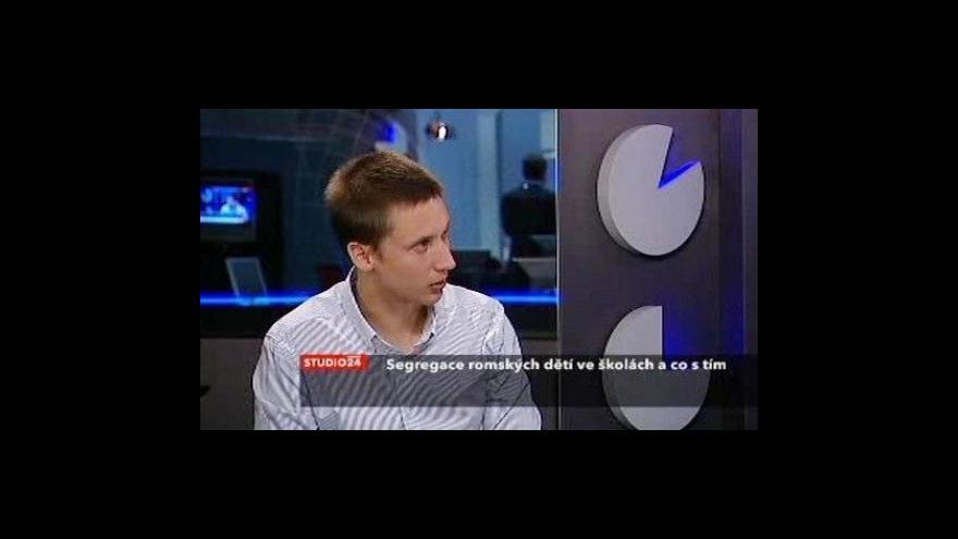 Video Studio ČT24 k segregaci romských žáků