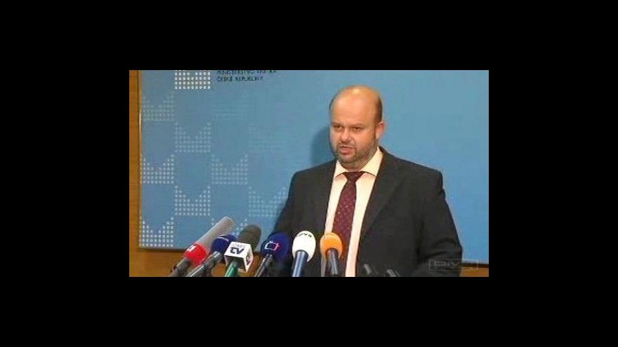 Video Brífink ministra vnitra Martina Peciny