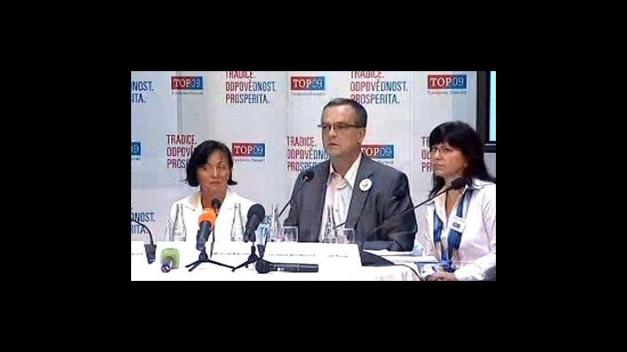 Video Představení volebního programu TOP 09