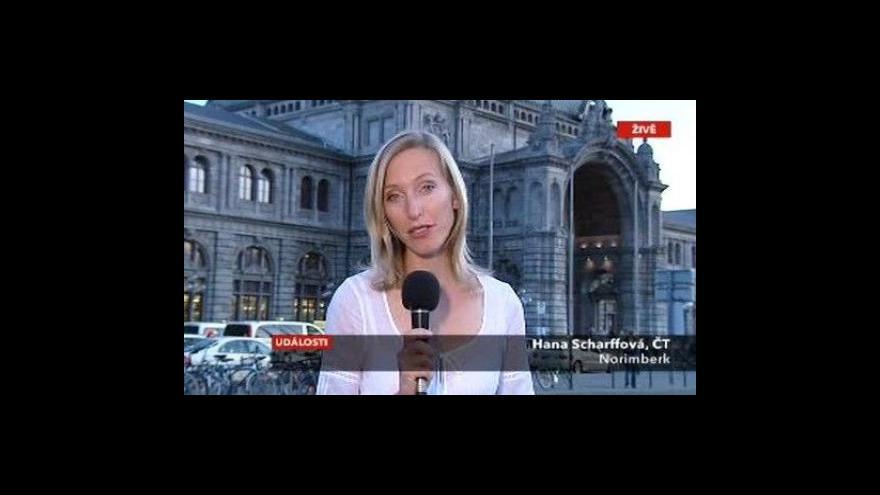 Video Reportáž Bohumila Vostala a vstup Hany Scharffové