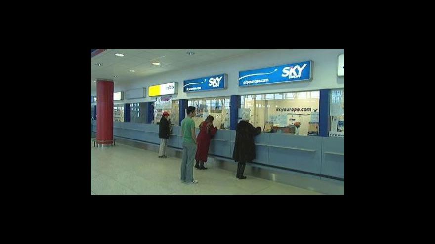 Video Cestovní kanceláře řeší krach SkyEurope