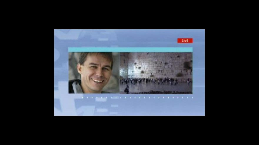 Video Břetislav Tureček informuje z Izraele