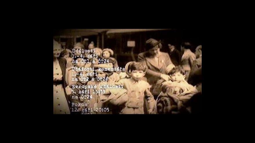 Video Winton Train vyrazil na cestu do Anglie