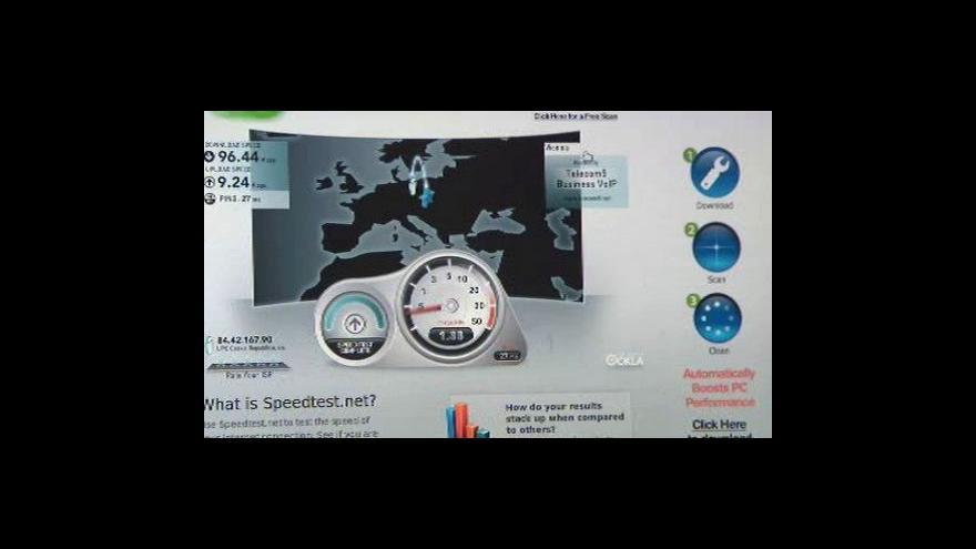 Video Poskytovatelé internetu zrychlují