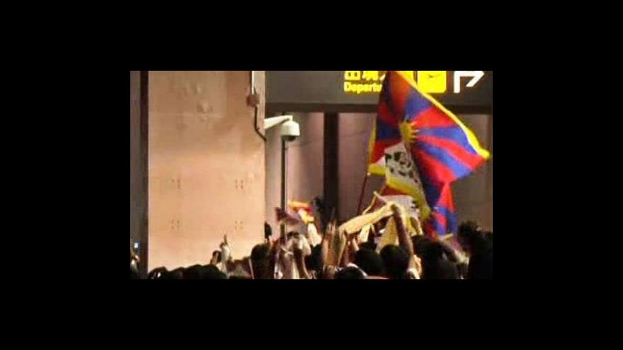 Video Dalajlama přiletěl na Tchaj-wan