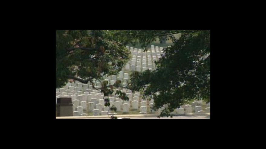 Video USA pohřbí zesnulého senátora Kennedyho
