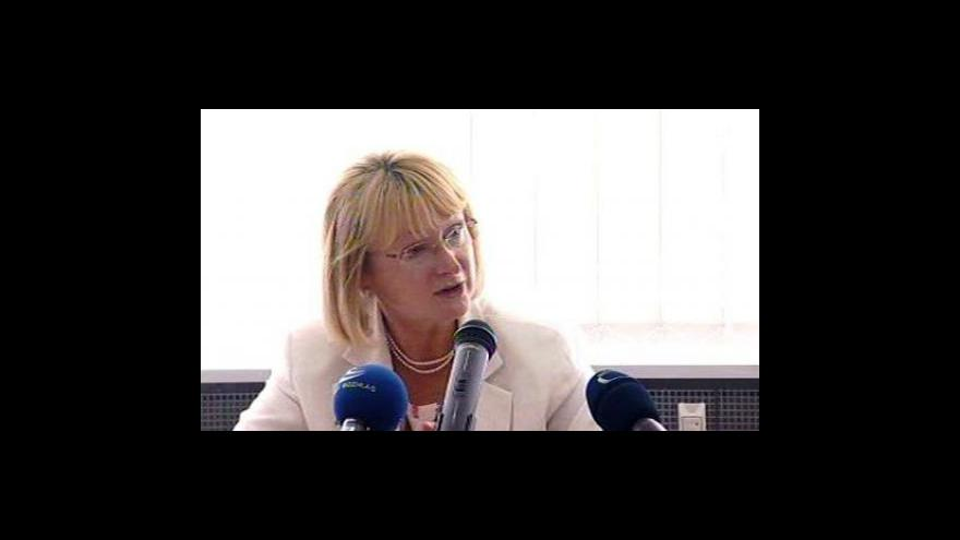 Video Jitka Seitlová k zákonu o hmotné nouzi