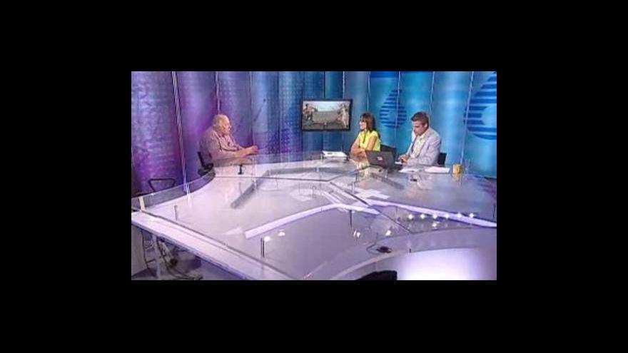 Video Rozhovor s Jaroslavem Jírů ve Studiu 6