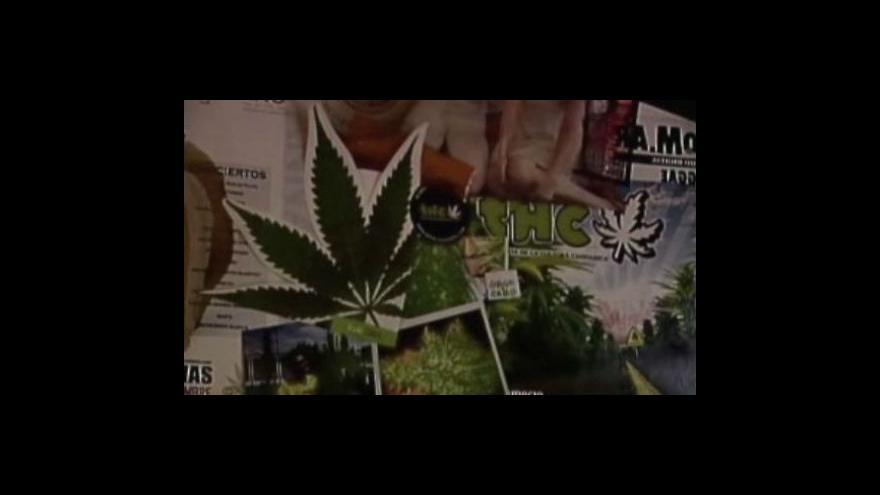 Video Argentina legalizovala marihuanu