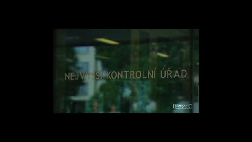 Video Jména zájemců o audit NKÚ budou známa dnes