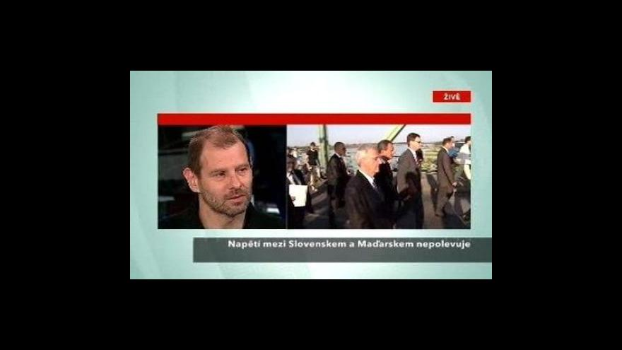 Video Telefonát Martina Šimečky