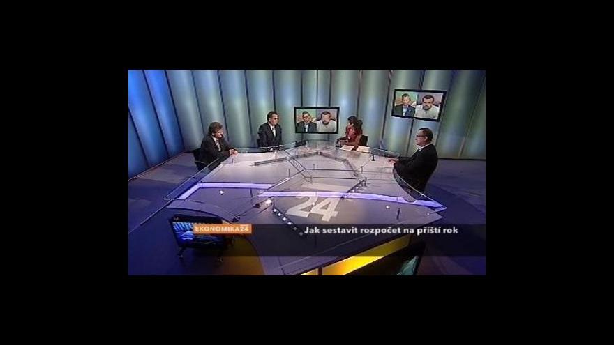 Video Speciál Ekonomiky ČT24 - Jak na rozpočet pro příští rok?