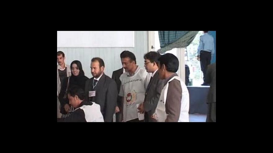 Video Jaromír Marek a Tomáš Vlach o volbách v Afghánistánu
