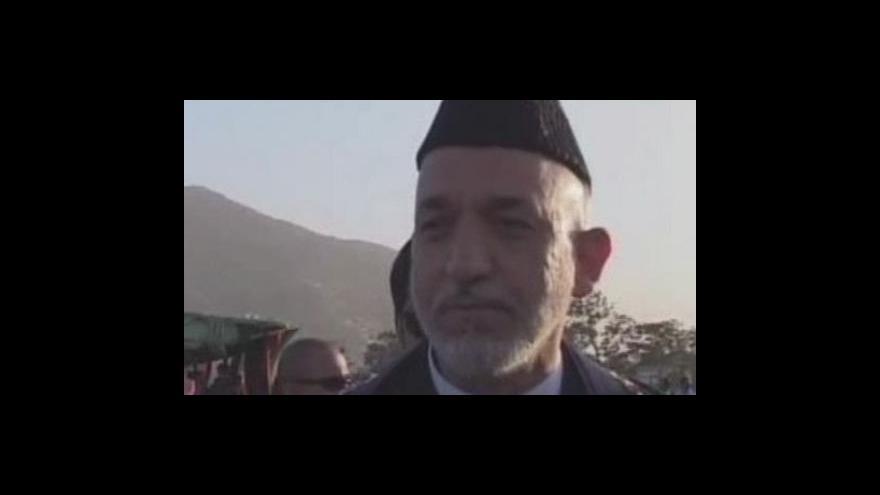 Video Volby v Afghánistánu začaly