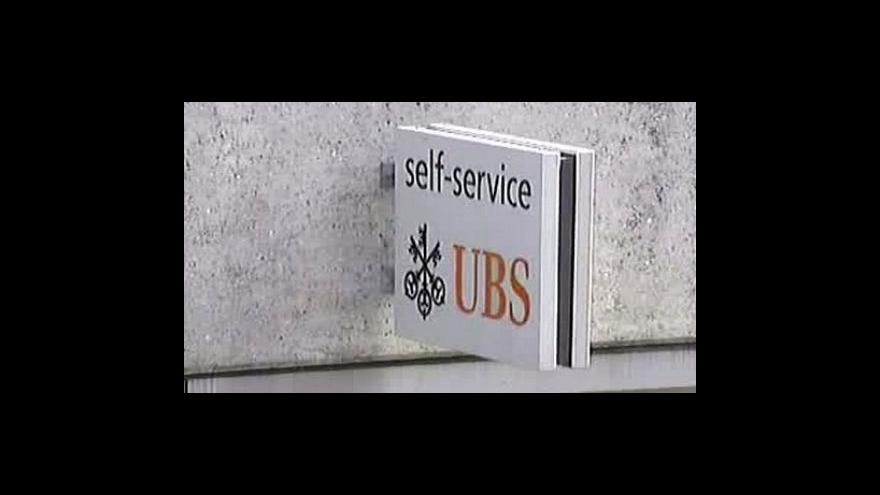 Video UBS odtajní účty Američanů