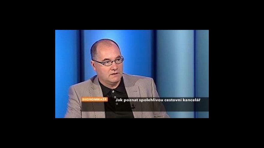 Video Jan Papež o spolehlivosti cestovních kanceláří