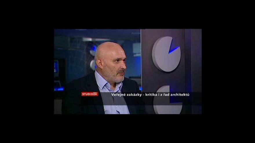 Video Rozhovor s Janem Sapákem z České komory architektů