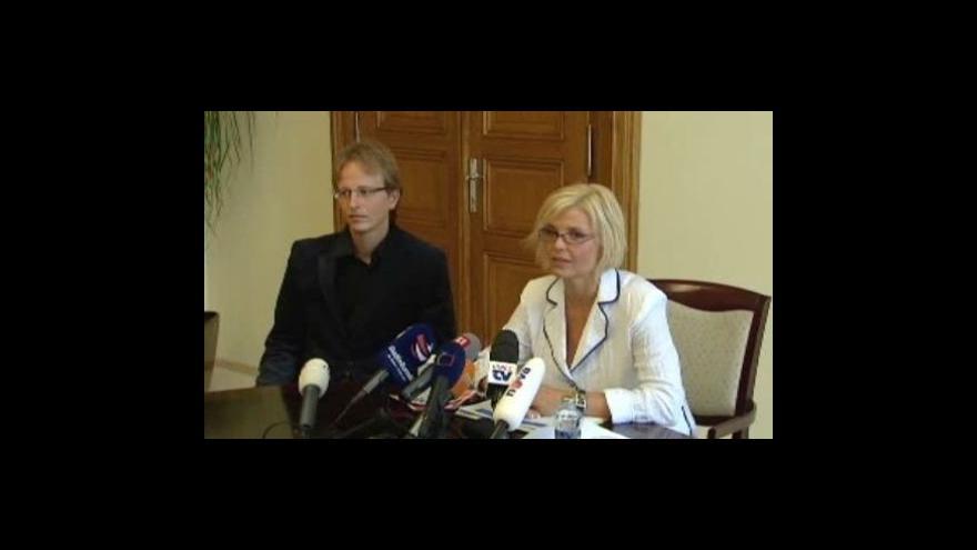Video Reportérka Pavla Sedliská ve Studiu ČT24