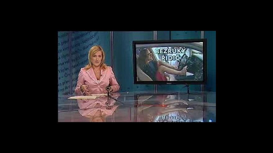 Video Události, komentáře o handicapovaném řidiči
