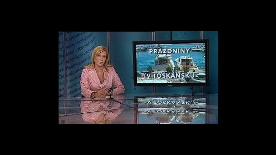 Video Události, komentáře o kauze Toskánsko