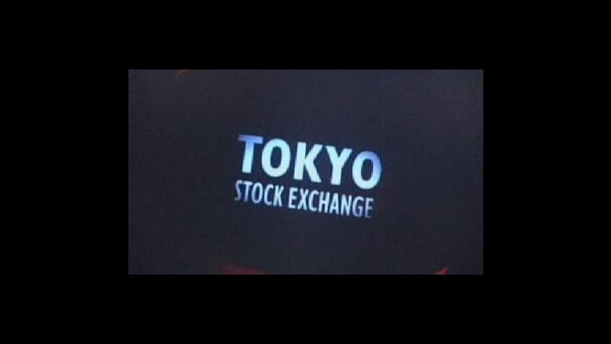 Video Asijské akciové trhy zažívají pád
