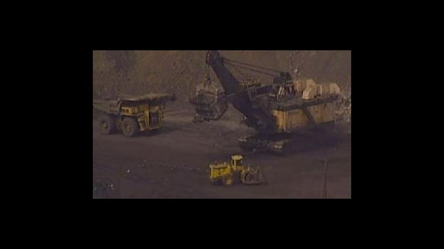 Video Těžba hnědého uhlí v unii rostla