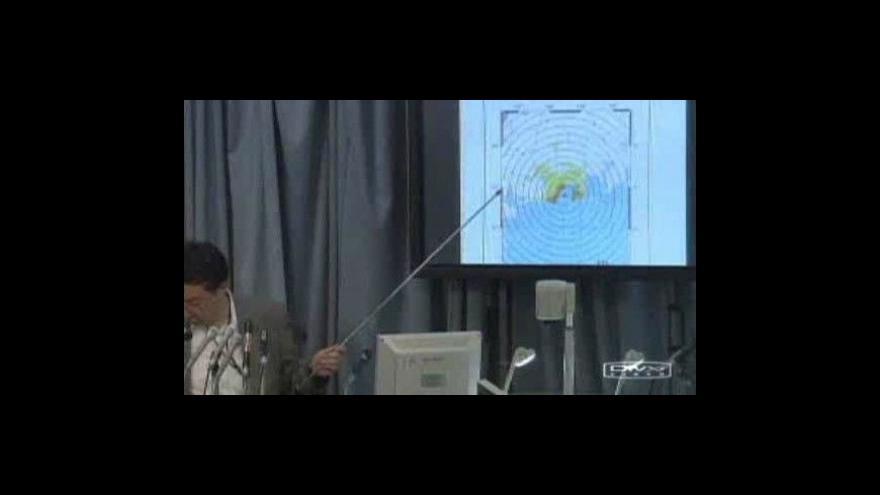Video Po tajfunu Etau přišlo i zemětřesení