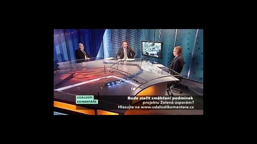 Video Události, komentáře s Ladislavem Mikem a Jaroslavem Hanákem