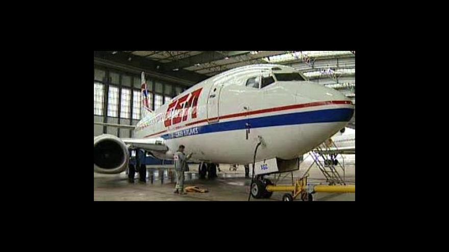 Video Nezaměstnanost Českých aerolinií