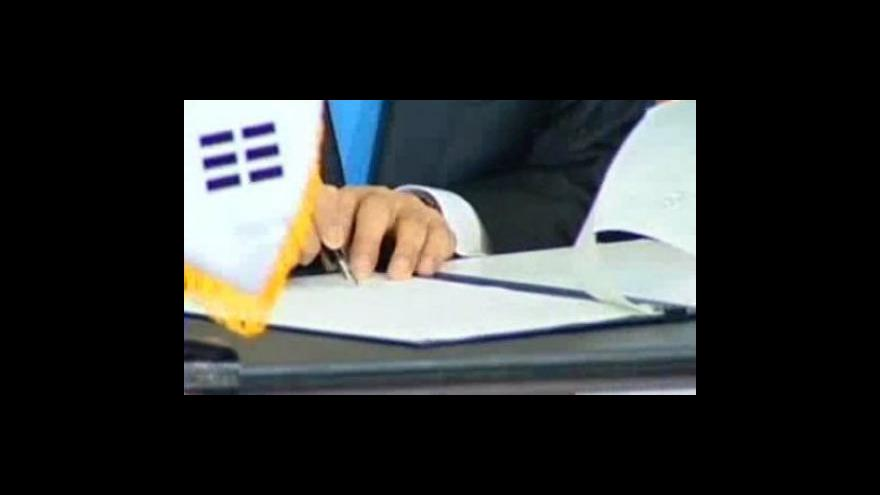 Video Jižní Korea a Indie podepsaly obchodní dohodu