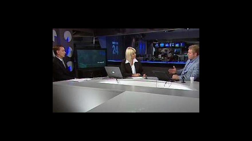 Video Rozhovor s Milanem Fridrichem a Václavem Myslíkem ve Studiu ČT24