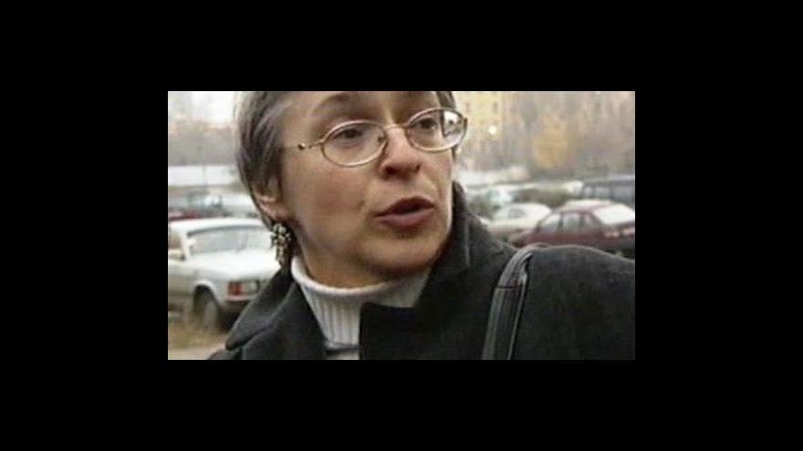 Video Proces s vrahy Anny Politkovské