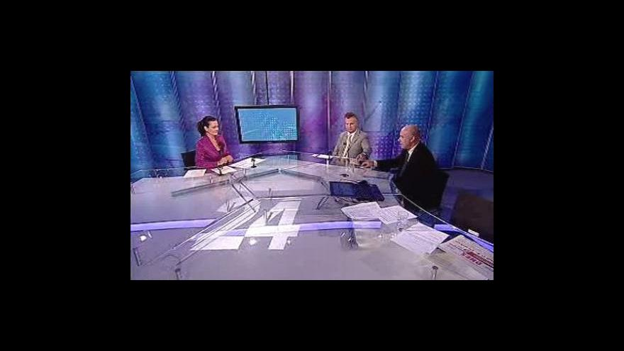 Video Tomáš Hládek a Bohuslav Zíma ve Studiu 6