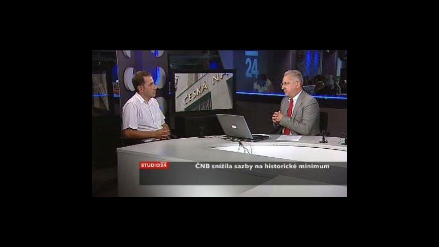 Video Luděk Niedermayer ve Studiu ČT24