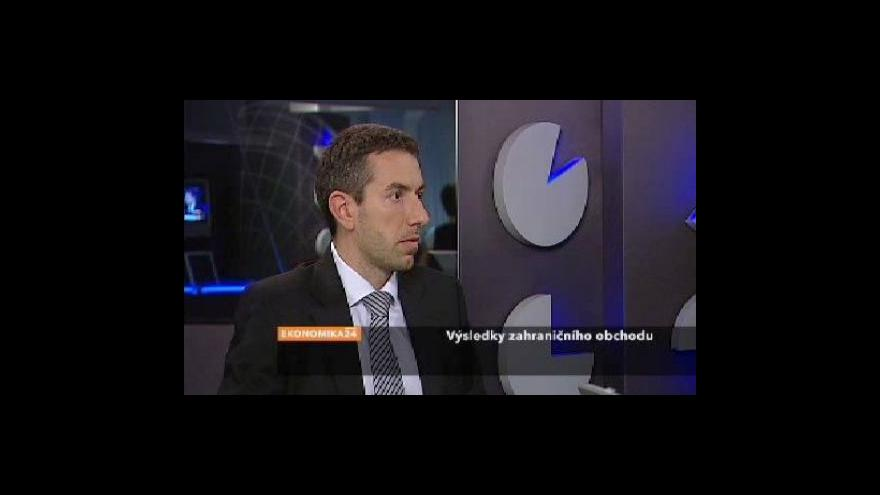 Video Rozhovor s ekonomem Davidem Markem