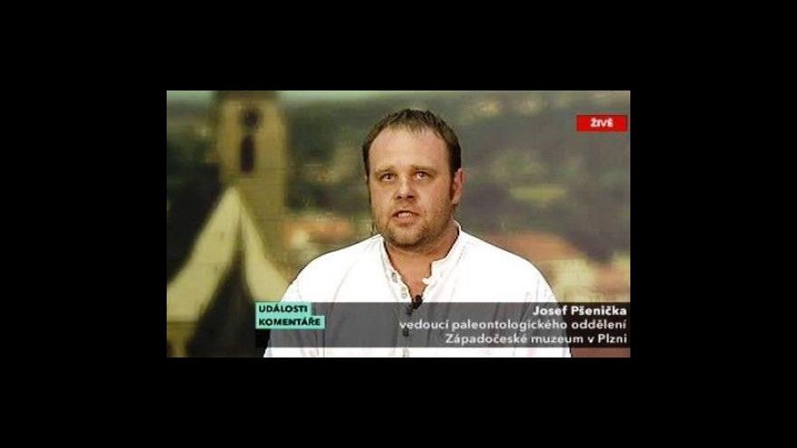 Video Rozhovor s Josefem Pšeničkou v Událostech komentářích