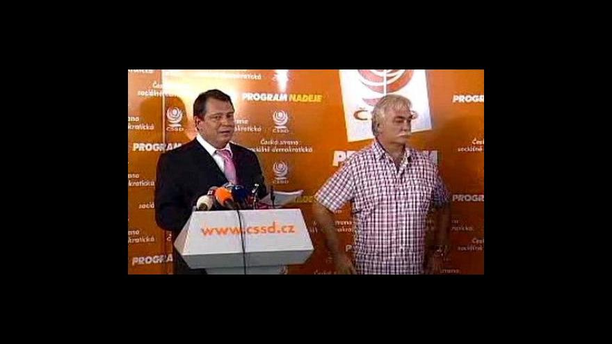 Video ČSSD a ODS se připravují na volby