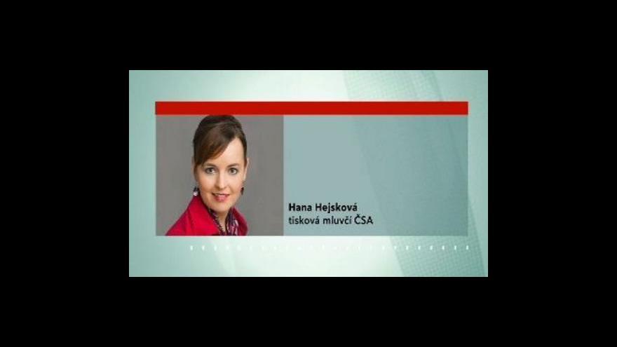 Video Komentář Hany Hejskové